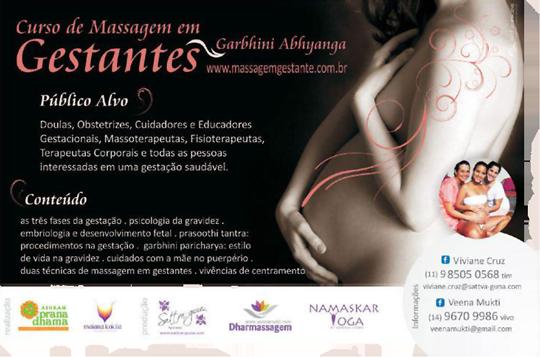 NamaskarYoga - Blog: Curso de Massagem em Gestantes