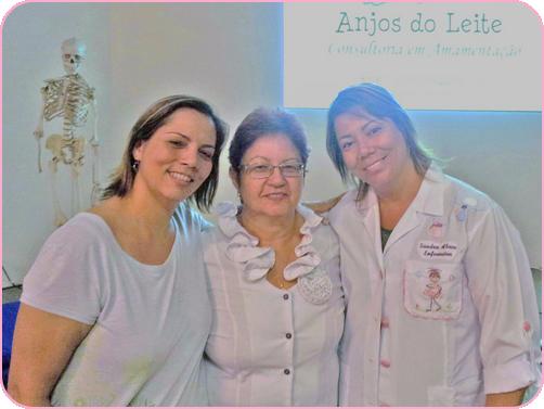 NamaskarYoga - Adriana Vieira , Dra Izilda Pupo ( palestrante da I Roda de Mães) e enfermeira Sandra Abreu