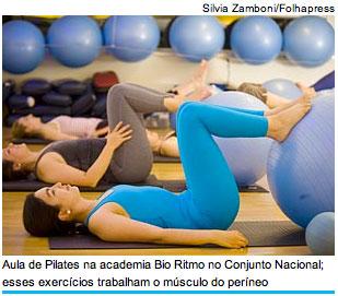 Exercicios para musculatura perineal